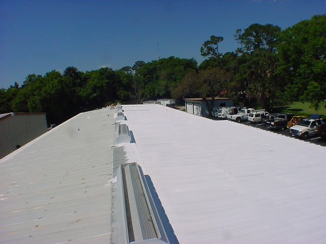 Roof Coating Failure