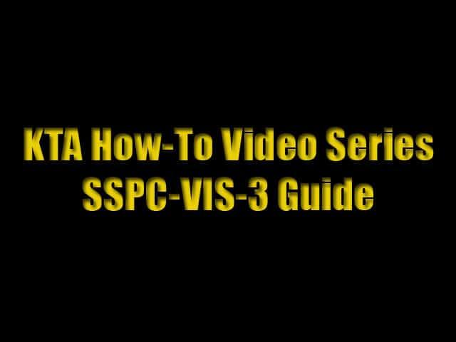 SSPC-VIS-3 Guide