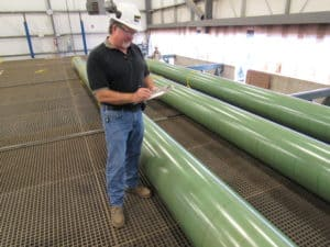 pipe coating inspection