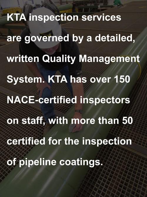 KTA Tator,Inc. NACE Certified