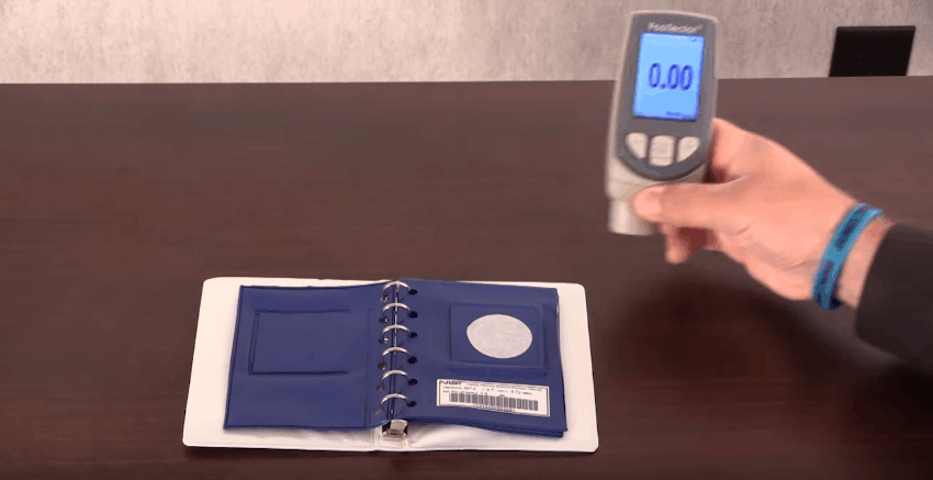 Type 2 dry film thickness gauge