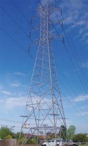 galvanized steel tower