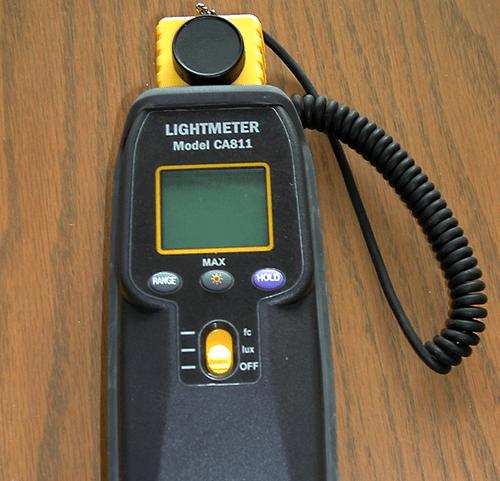 illumination light meter