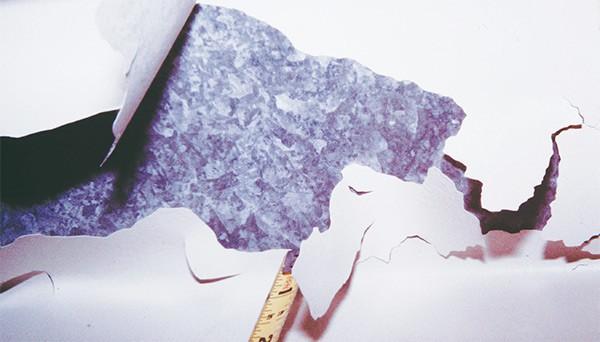coating delamination galvanization