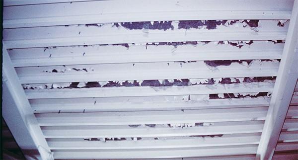 coating delamination