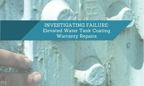 coating failure water tank