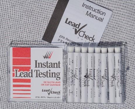 lead check swab