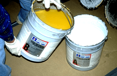 multi-component coating