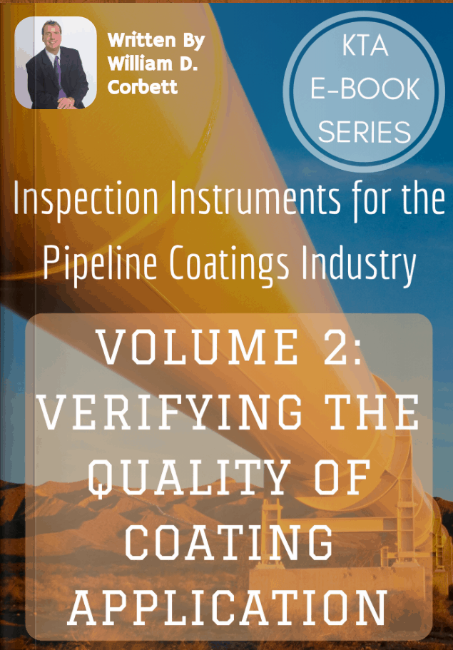 pipeline ebook verifying quality of coating application