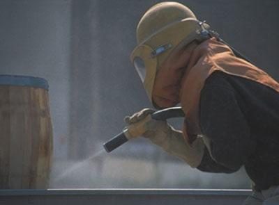 abrasive blast cleaning