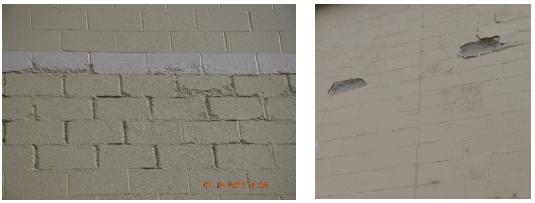 moisture beneath roof membrane