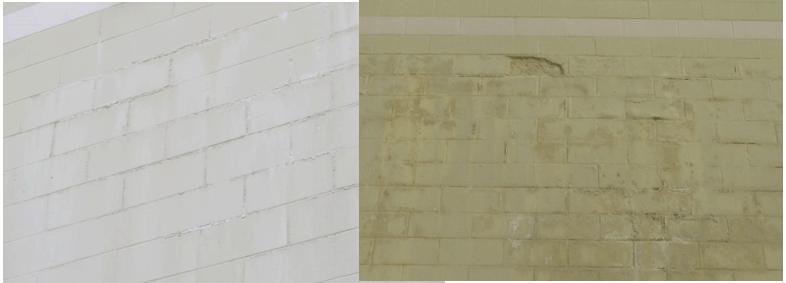 wall peeling