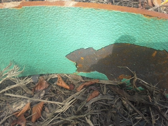 ceramic epoxy coating lining failure performance testing