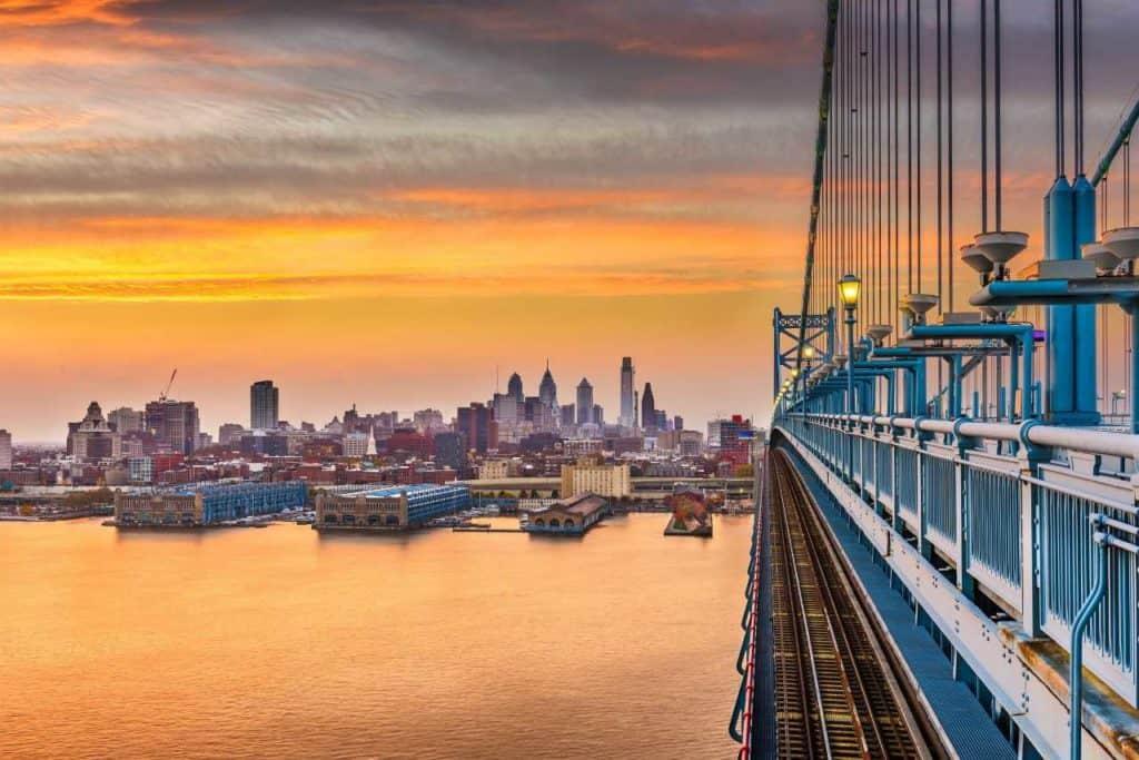 ben franklin bridge coatings project