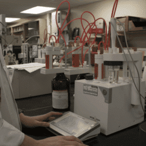 compositional analysis of coatings