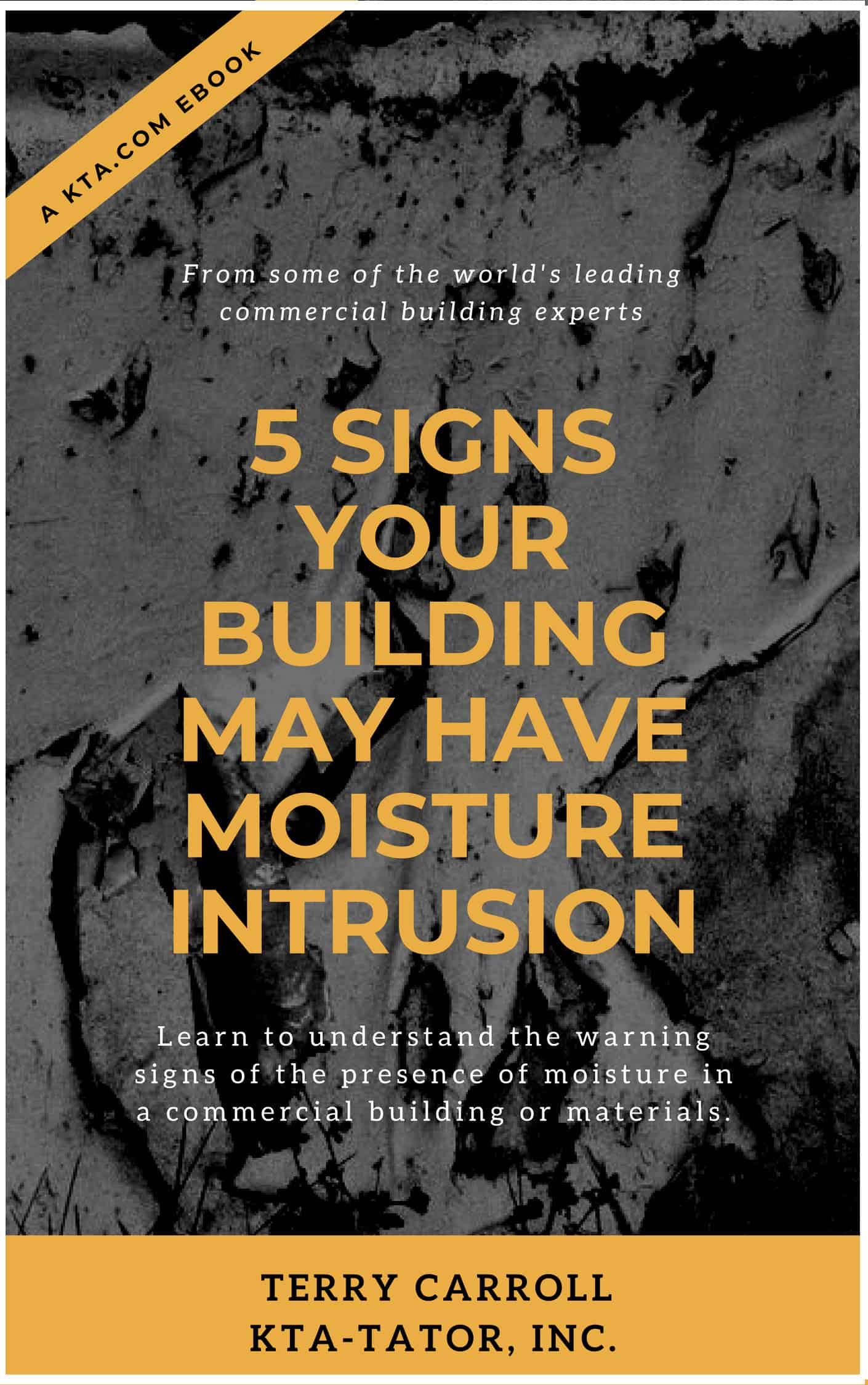 moisture intrusion issues