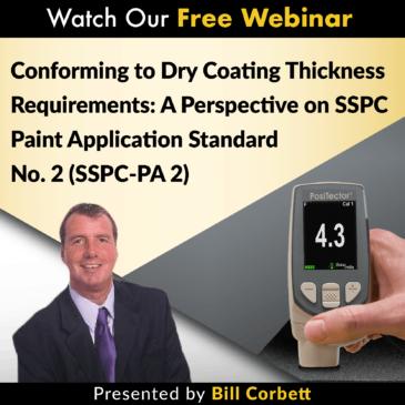 sspc pa-2 dry film thickness coatings webinars