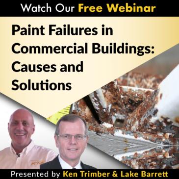 paint failure commercial building coatings webinars