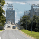 Painting the Natchez-Vidalia Westbound Bridge