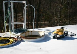 drone coatings inspection assessment potable water