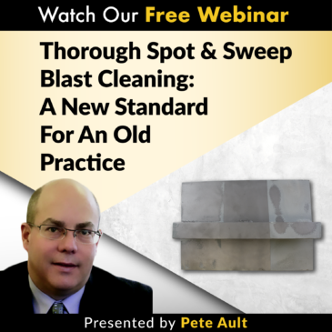 spot and blast cleaning webinar sspc sp 18