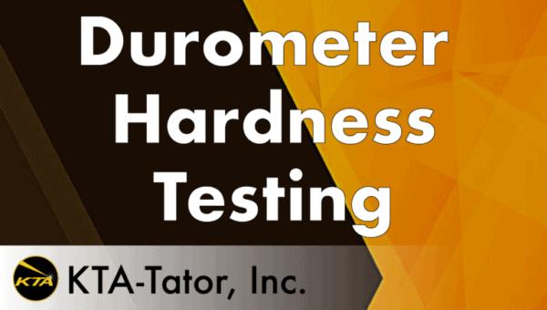 Durometer Hardness Testing