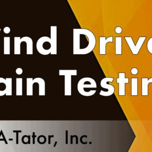 Wind Driven Rain Testing