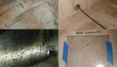 coating blister